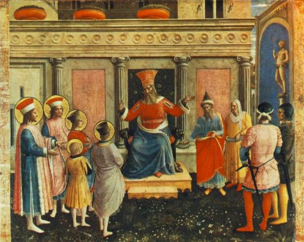 Saint Cosmas And Saint Damian Before Lisius